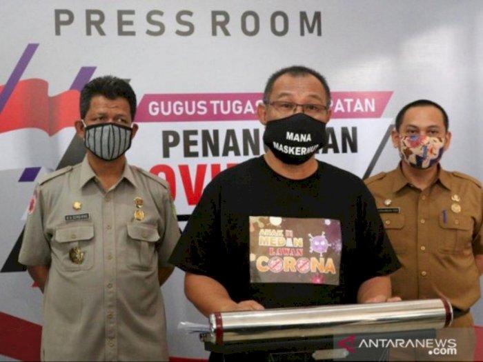 Plt Wali Kota Medan Akhyar Nasution Selesai Jalani Perawatan Covid-19