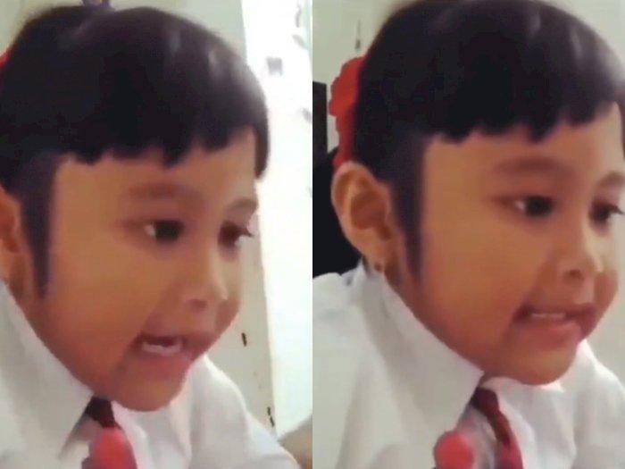 Viral Bocah SD Berdebat dengan Ibunya saat Belajar Bahasa Inggris, Ekpresinya Bikin Ngakak