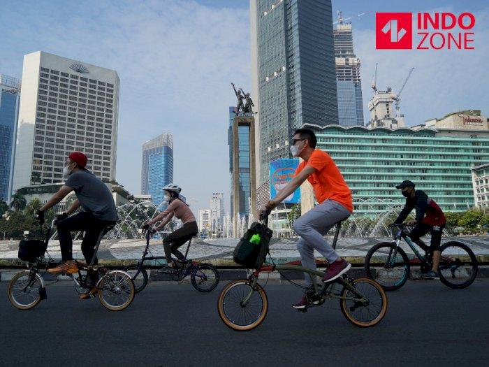 Tujuh Jalur Pesepeda di Jakarta Pusat Ditiadakan, Mana Saja?