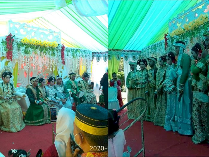 Viral Pernikahan Empat Saudara Kembar di Sulsel, Netizen Penasaran Malam Pertamanya