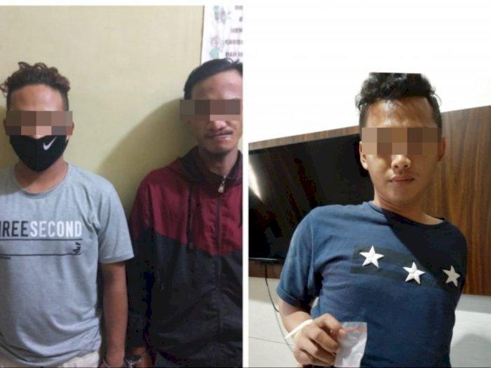 Pemuda Ini Ditangkap dengan Barang Bukti Ekstasi Saat Nongkrong di Depan Penjual Es