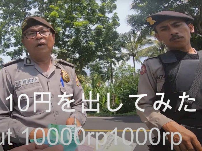 2 Polisi Tilang Turis Jepang Rp1 Juta Telah Dimutasi, Kemungkinan akan Dipecat