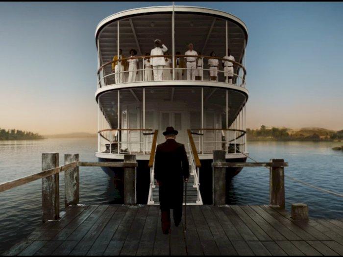 Detektif Hercule Poirot Kembali dalam Trailer 'Death on the Nile'