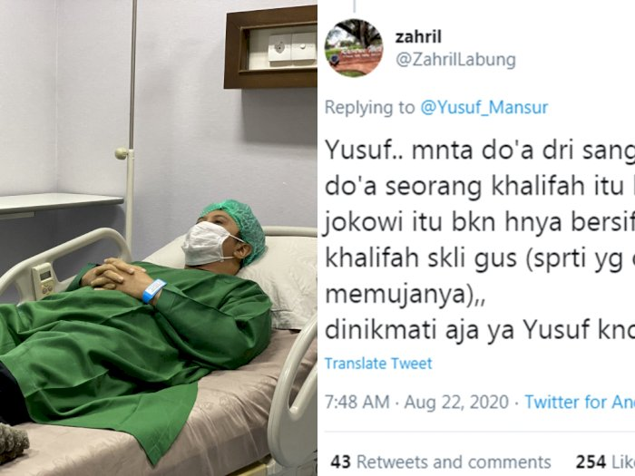 Ustadz Yusuf Mansur Sakit, Dihujat Orang Seagama, Malah Didoakan Orang Non-Muslim