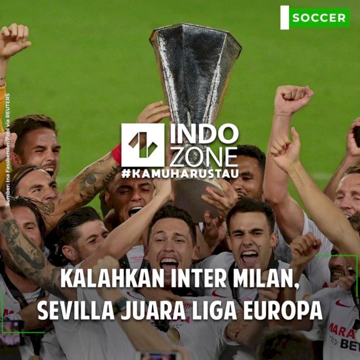 Kalahkan Inter Milan, Sevilla Juara Liga Europa