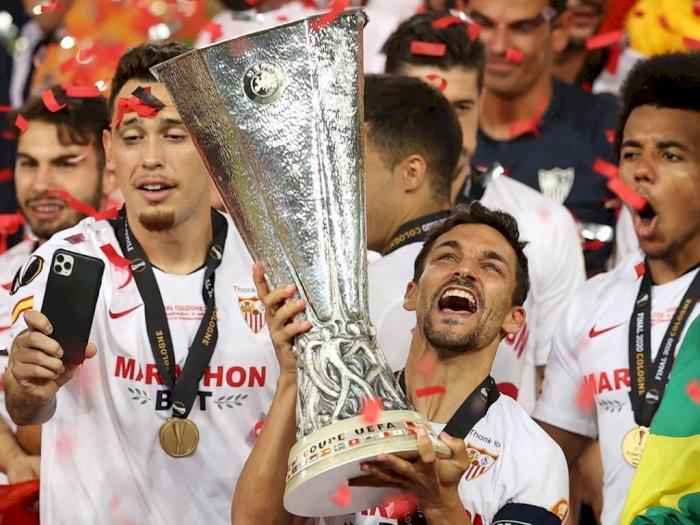 Lukaku Bunuh Diri, Sevilla Juara Liga Europa untuk Yang ke-6 Kali