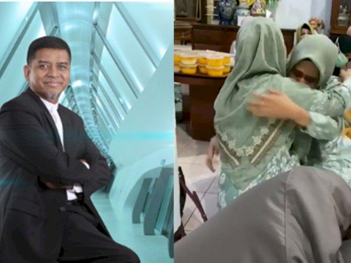Istri Tua Peluk Erat Istri Muda saat Menikah dengan Suaminya yang Dirut Bank NTB Syariah