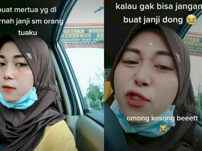Viral Emak-emak Tagih Warisan dari Mertua Lewat TikTok, Netizen Emosi Lihat Wajahnya