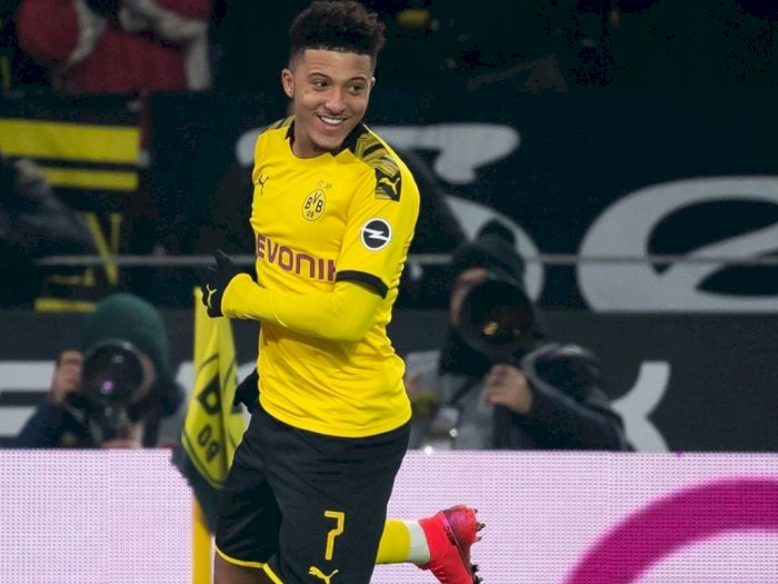 Jadon Sancho Diklaim akan Bertahan di Dortmund, Setidaknya 1 Musim Lagi