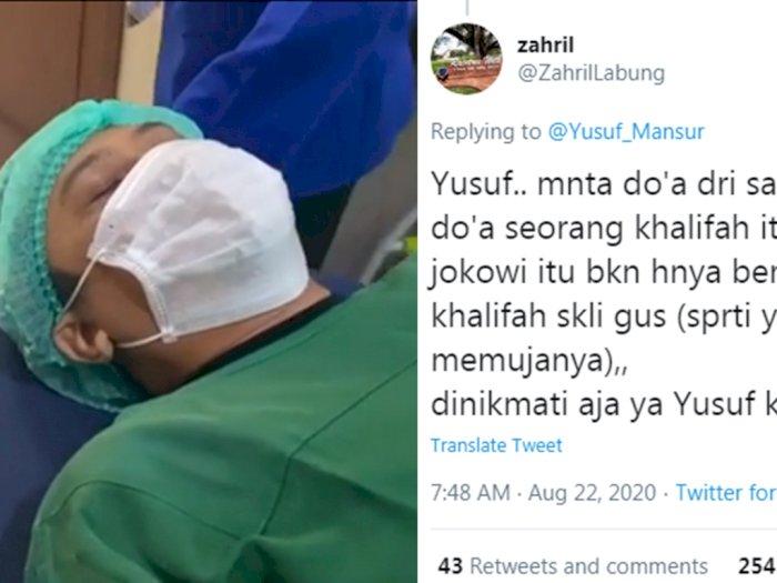 Sudah Sakit Pun Tetap Dihujat Netizen, Ustadz Yusuf Mansur Disuruh Minta Doa dari Jokowi