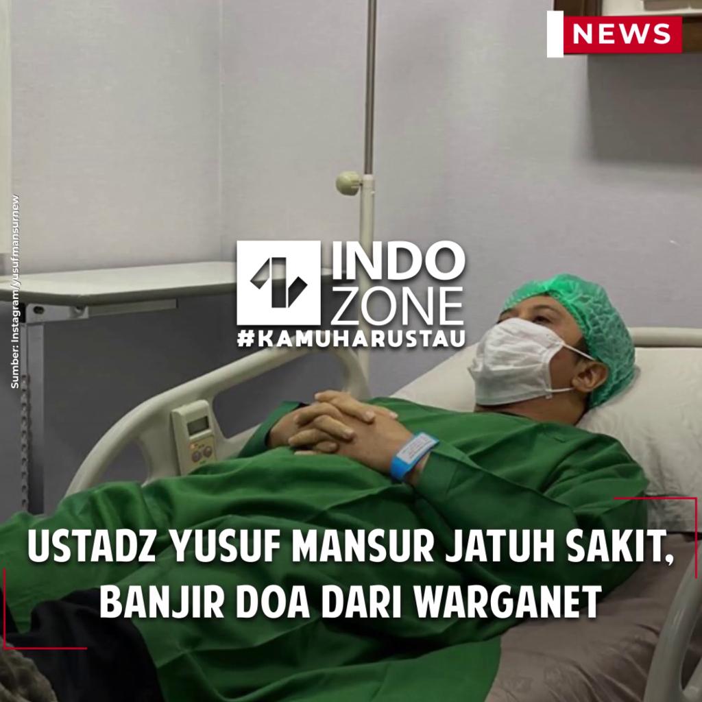 Ustadz Yusuf Mansur Jatuh Sakit, Banjir Doa dari Warganet