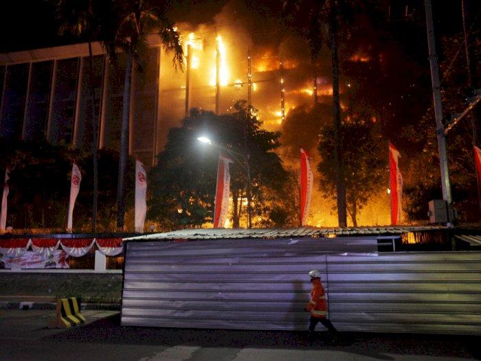 Usut Penyebab Kebakaran di Gedung Kejagung, Polisi Langsung Gelar Penyelidikan