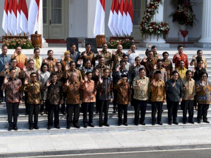 Tidak Ada Reshuffle, Presiden Jokowi Minta Kabinet Indonesia Maju Fokus Kerja