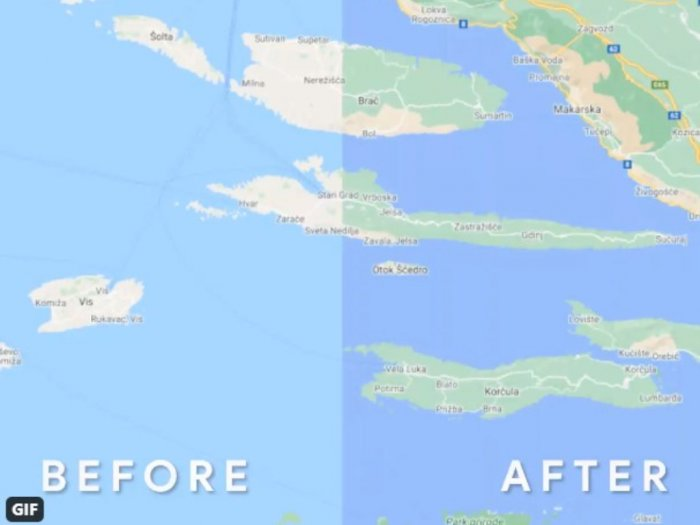 Tampilan Terbaru Google Maps, Lebih Detail dan Berwarna