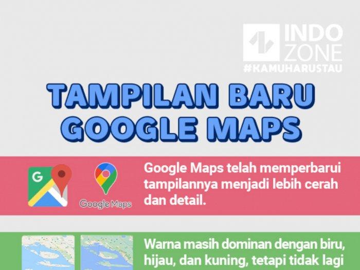Tampilan Baru Google Maps