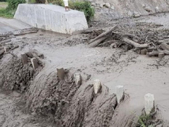 Banjir Lahar Dingin di Karo, Warga Diminta Waspada