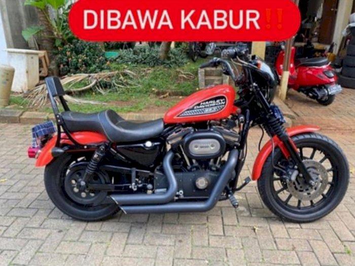 Heboh Harley Davidson Dibawa Kabur Calon Pembeli, Polisi Turun Tangan