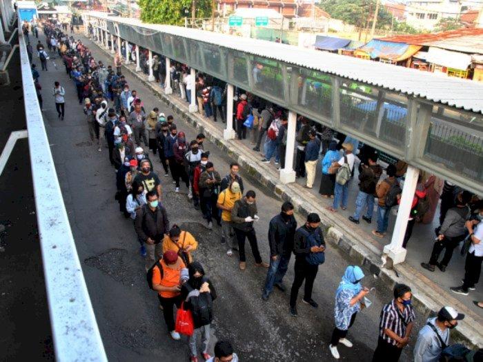 Pasca Long Weekend, Operasional KRL Commuter Jabodetabek Dipastikan Kondusif