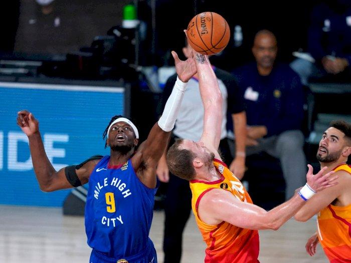 FOTO: Utah Jazz Menang Tipis atas Denver Nuggets 129-127