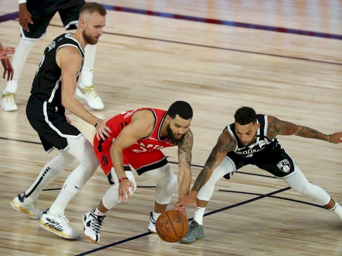 FOTO: Toronto Raptors Menyapu Putaran Pertama Dengan Kemenangan atas Brooklyn Nets