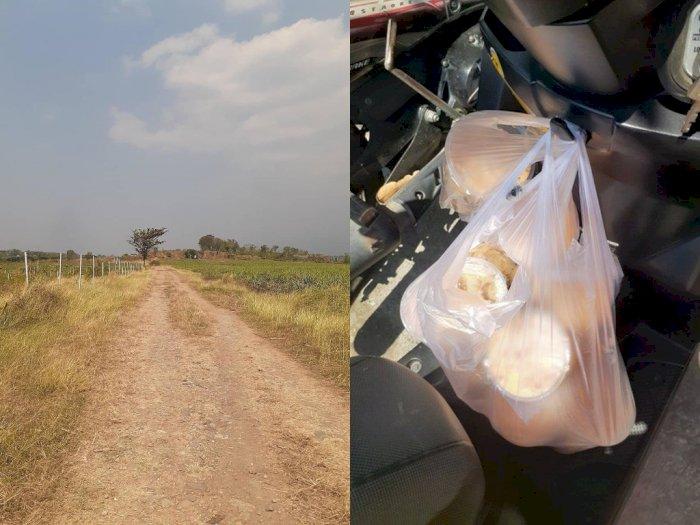 Antar Thai Tea ke Lokasi Misterius, Driver Ojol Ini Kaget & Bingung saat Sampai di Lokasi