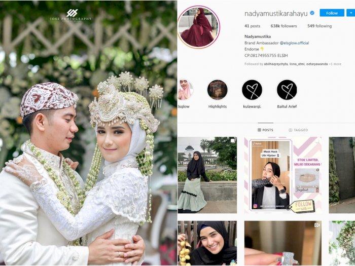Balas Rizki DA, Nadya Mustika Rahayu Kini Ikut Ganti Foto Profil Tanpa Suami