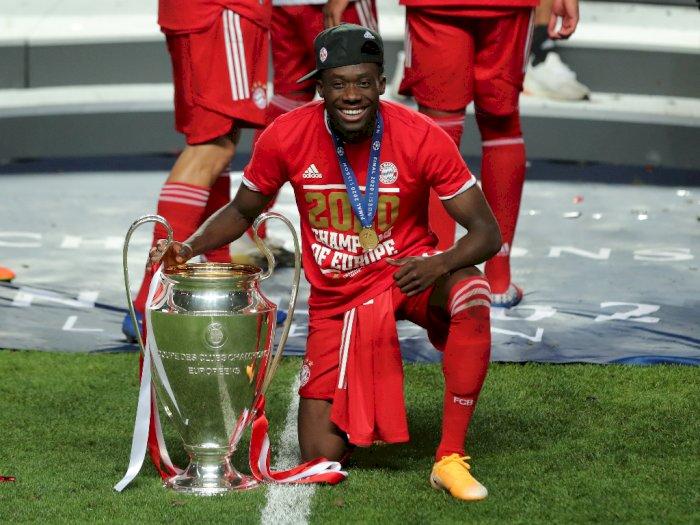Alphonso Davies Tak Percaya Menjuarai Liga Champions