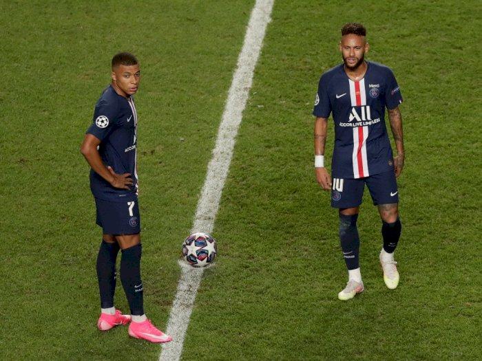 PSG Kalah, Mbappe dan Neymar Beri Selamat Pada Bayern Munchen