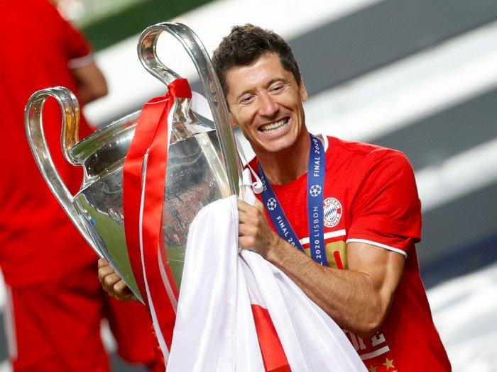 Pesan Inspiratif Lewandowski Usai Juara Liga Champions