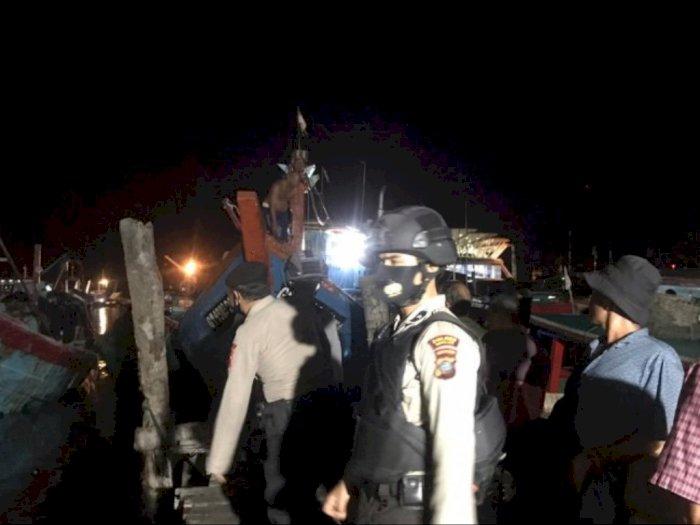 Kecelakaan Kapal Terjadi di Perairan Sibolga, 1 ABK Tewas, 6 Luka-luka