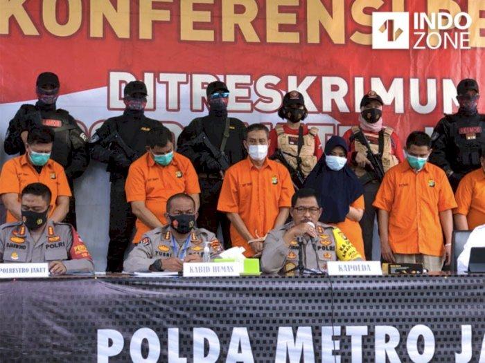 Kasus Penembakan Pengusaha di Jakarta Utara Terungkap, 12 Tersangka Diciduk Polisi