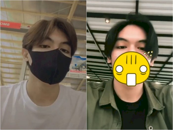 Pria ini Buktikan Makin Keren Pakai Masker, Netizen kira Oppa Korea Ternyata ini Aslinya