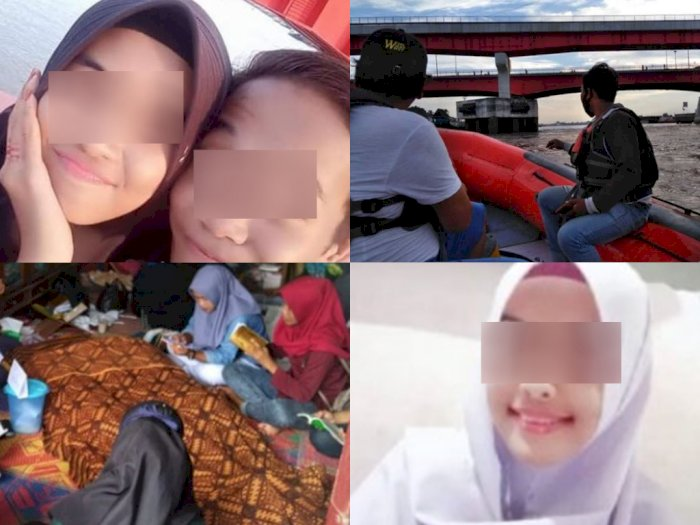 Antara Bunuh Diri dan Tergelincir, Gadis SMA dan Pacarnya Tewas Tenggelam di Sungai Musi