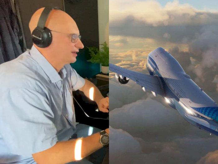 Ini Reaksi Pilot Asli Saat Mencoba Memainkan Microsoft Flight Simulator