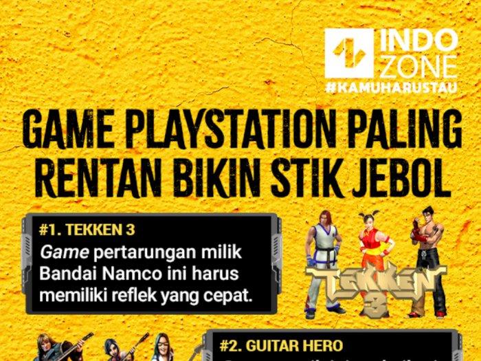 Game PlayStation Paling Rentan Bikin Stik Jebol
