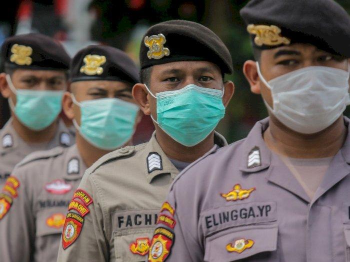 Kapolda Jambi Gunakan Kearifan Lokal untuk Kampanyekan Pemakaian Masker