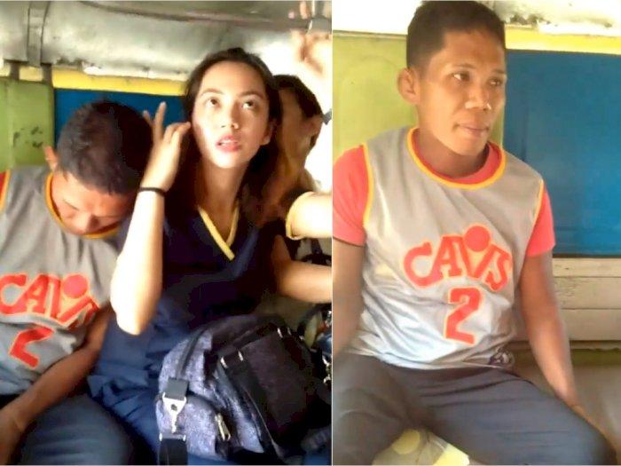 Pura-pura Tertidur, Pria Ini Lakukan Pelecehan Seksual ke Penumpang Cantik di Angkot