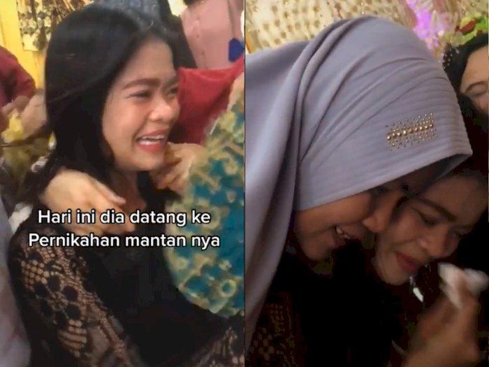 Gagal Nikah Karena Beda Agama, Wanita ini Dipeluk Ibu Mantan Saat Hadiri Pernikahannya