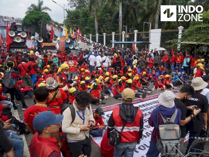 Polda Metro Siapkan 5.800 Personel Amankan Demo Buruh di Depan Gedung DPR
