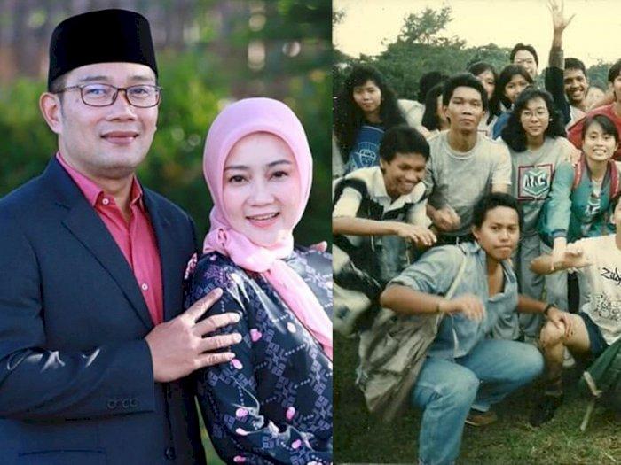 Foto Lawas Gubernur Jabar Ridwan Kamil Beredar, Istrinya Kaget, 'Suamiku Dulunya Jelek Ya'