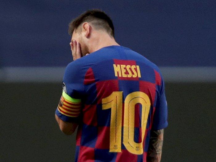 20 Tahun Berkostum Barcelona, Lionel Messi Minta Hengkang