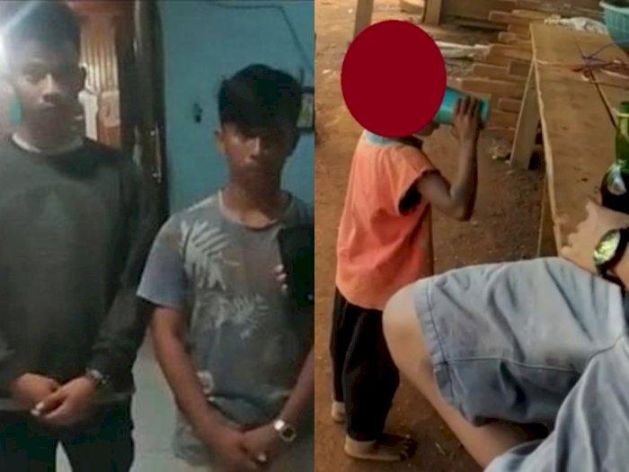 Cekoki Miras ke Bocah 3 Tahun Sampai Mabuk, Tersangka Mengaku Cuma Bercanda