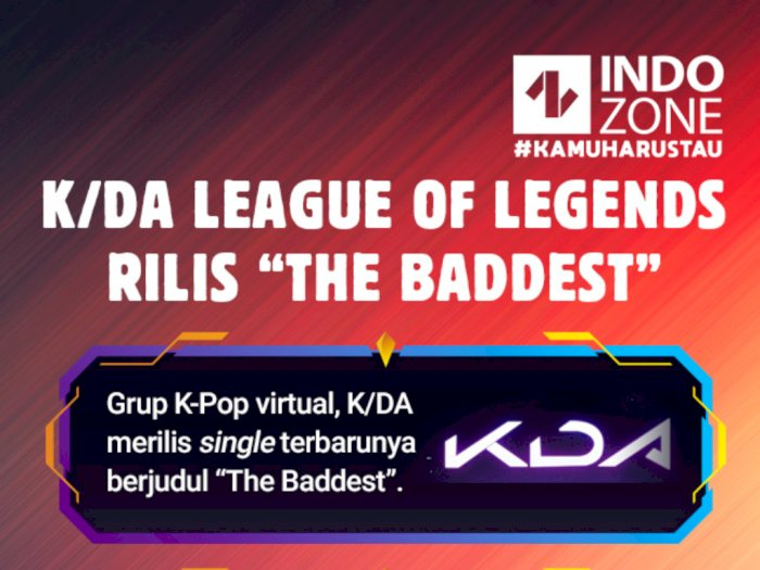 KDA League of Legends Rilis The Baddest