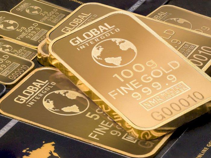 Kembali Terkoreksi, Harga Emas Antam Turun Rp10.000 per Gram