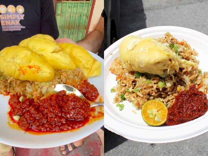 Restoran Ini Sajikan Nasi Goreng dengan Lauk Durian, Enek atau Enak?