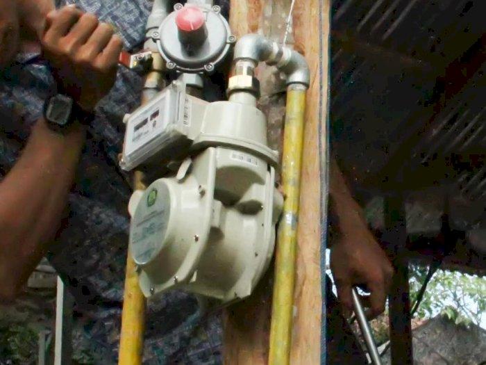 FOTO: Pengusaha Catering Mulai Gunakan Jaringan Gas PGN