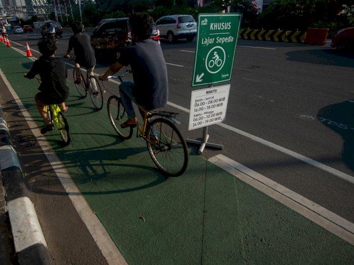 Jalur Sepeda di Tol Dalam Kota, Sepeda seperti Apa yang Bisa Masuk Tol?