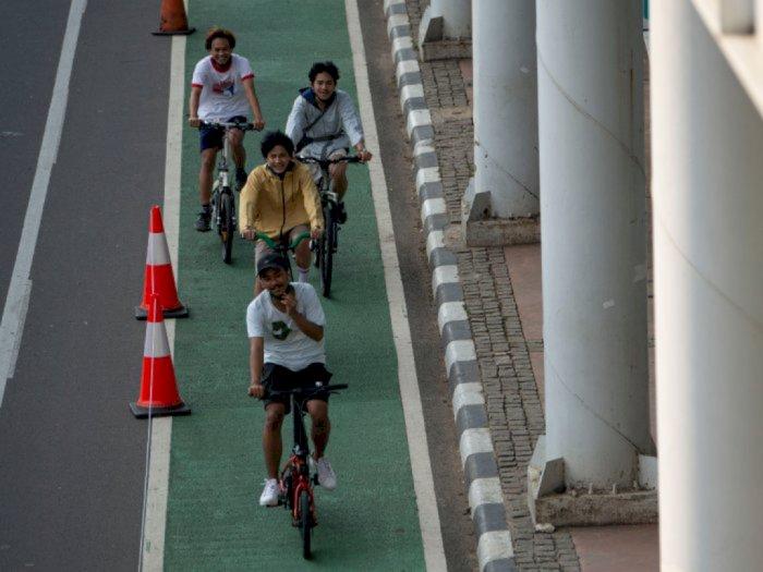 Pemprov DKI Surati Kementerian PUPR untuk Dapat Izin Jalur Sepeda di Tol Dalkot