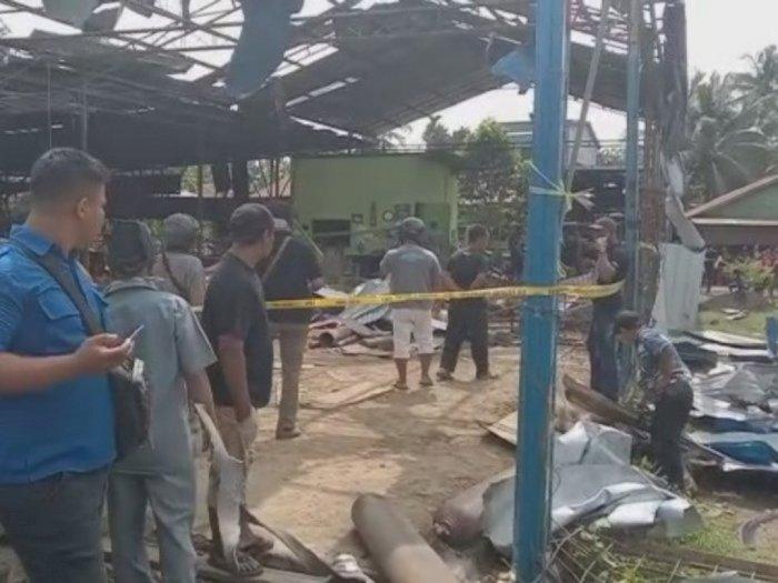 Para Korban Ledakan Tabung Gas di Tandam Masih Dalam Identifikasi
