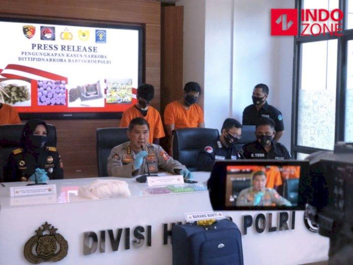 Kelompok Penyelundup Ekstasi dari Belanda-Makassar: 3 Napi, 1 Eks Anggota Polri